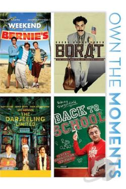Weekend at Bernie's/Borat/The Darjeeling Limited/Back to School DVD Cover Art
