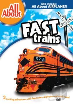 All About - All About Fast Trains/All About Airplanes DVD Cover Art