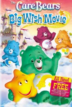 Care Bears - Big Wish Movie DVD Cover Art