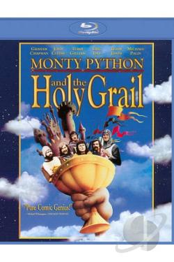 Monty Python and the Holy Grail BRAY Cover Art