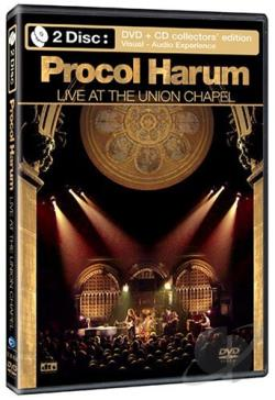 Procol Harum - Live at the Union Chapel DVD Cover Art