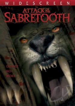Attack of the Sabertooth DVD Cover Art