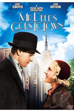 Mr. Deeds Goes To Town DVD Cover Art