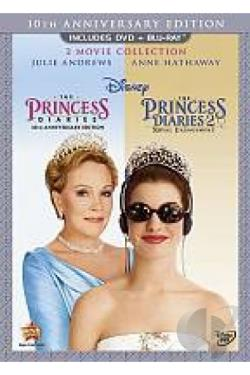 Princess Diaries/Princess Diaries 2: Royal Engagement DVD Cover Art