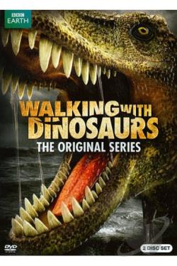 Walking with Dinosaurs DVD Cover Art