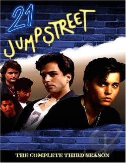 21 Jump Street - The Complete Third Season DVD Cover Art