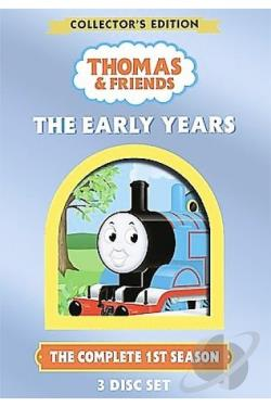 Thomas & Friends - The Early Years DVD Cover Art