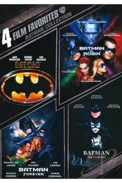 Batman Collection: 4 Film Favorites - 4 Film Favorites: Batman