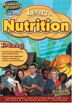 Learn Nutrition DVD Cover Art