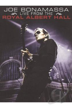 Joe Bonamassa: Live from the Royal Albert Hall DVD Cover Art