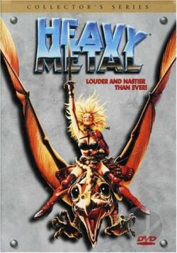 Heavy Metal DVD Cover Art