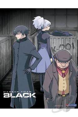 Darker than BLACK - Vol. 1 DVD Cover Art