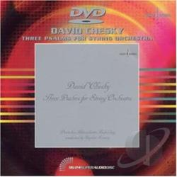 Three Psalms for String Orchestra DVD Cover Art