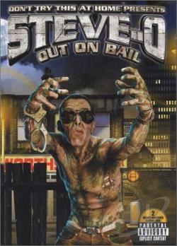 Steve-O: Don't Try This At Home 3 - Out On Bail DVD Cover Art