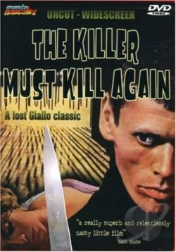 Killer Must Kill Again DVD Cover Art