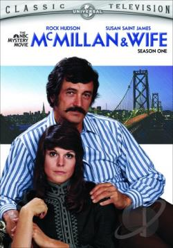 McMillan & Wife - The Complete First Season DVD Cover Art