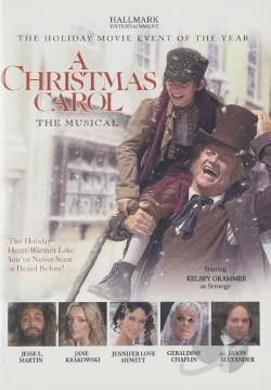 Christmas Carol - The Musical DVD Cover Art