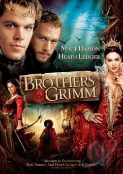 Brothers Grimm DVD Cover Art