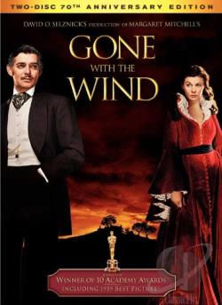 Gone With the Wind DVD Cover Art