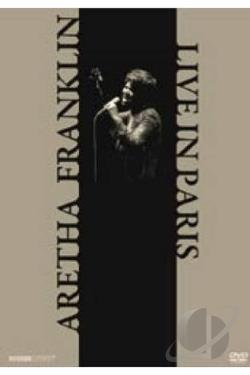 Aretha Franklin: Live in Paris DVD Cover Art