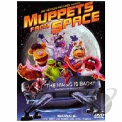 Muppets from Space DVD Cover Art