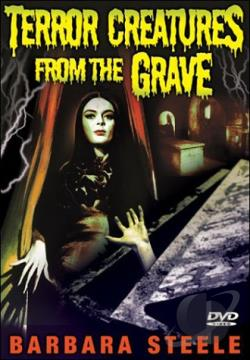 Terror Creatures From the Grave DVD Cover Art