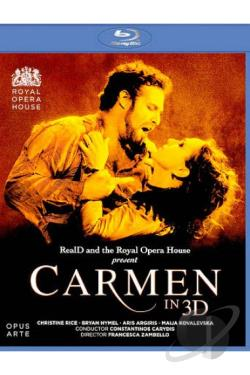 Carmen in 3D BRAY Cover Art