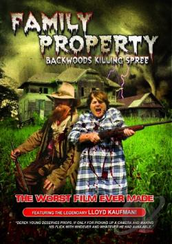 Family Property: Backwoods Killing Spree DVD Cover Art