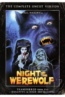 Night Of The Werewolf DVD Cover Art