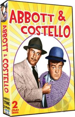 Abbott & Costello DVD Cover Art
