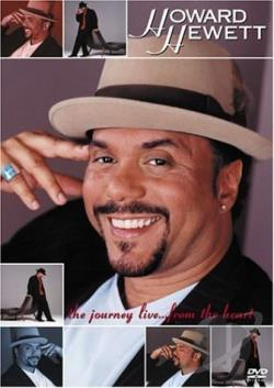 Howard Hewett - Journey Live...From the Heart DVD Cover Art