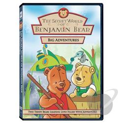 Secret World Of Benjamin Bear - Big Adventures DVD Cover Art