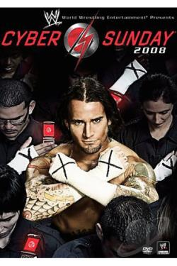 WWE: Cyber Sunday 2008 DVD Cover Art