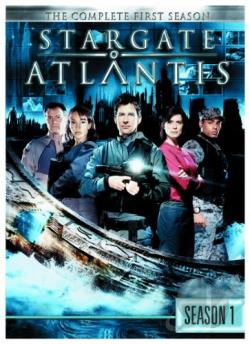 Stargate: Atlantis - The Complete First Season DVD Cover Art