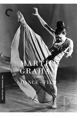 Martha Graham: Dance on Film DVD Cover Art