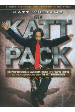 Katt Williams: The Katt Pack DVD Cover Art