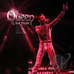 Queen: One Vision DVD Cover Art