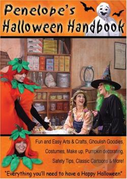 Penelope's Halloween Handbook DVD Cover Art