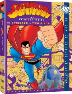 Superman: The Animated Series - Vol. 3 DVD Cover Art