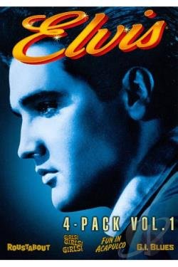 Elvis 4 - Pack, Vol. 1 DVD Cover Art