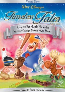 Walt Disney's Timeless Tales Volume 3 DVD Cover Art