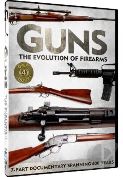 Guns: The Evolution of Firearms DVD Cover Art