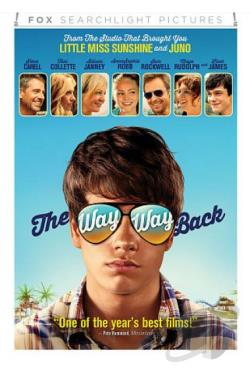 Way Way Back DVD Cover Art