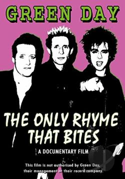 Green Day - The Only Rhyme That Bites DVD Cover Art