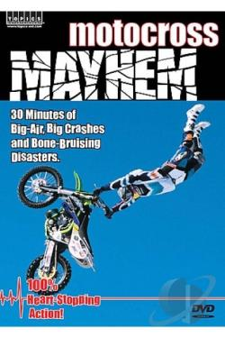 Motocross Mayhem DVD Cover Art