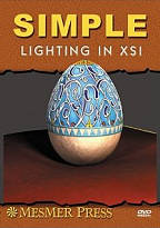 Simple Lighting in XSI DVD Cover Art