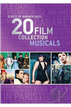 Best of Warner Bros.: 20 Film Collection - Musicals DVD Cover Art