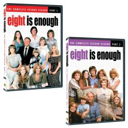 Eight is Enough - The Complete Second Season DVD Cover Art