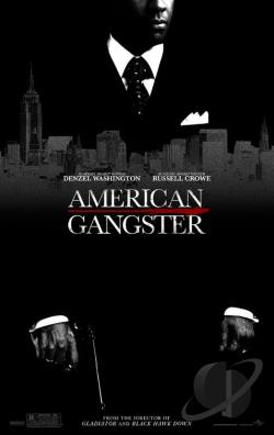 American Gangster DVD Cover Art