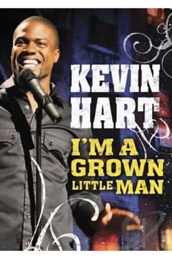 Kevin Hart: I'm a Grown Little Man DVD Cover Art